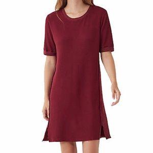 Splendid Vintage Thermal Dress - Ruby XS
